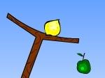 La balanza de la fruta
