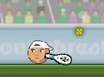 Jugar gratis a Sports Heads Tennis