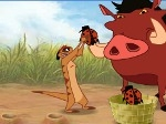 Timón y Pumba en la selva