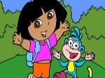Jugar gratis a Colorear a Dora
