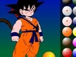 Jugar gratis a Pintar a Goku