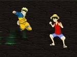 Jugar gratis a Naruto vs Luffy de One Piece