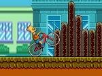 Jugar gratis a Bart en bicicleta