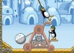 Jugar gratis a Catapulta de pingüinos