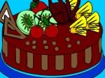Jugar gratis a Colorear tarta