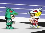 Pegaso vs Caballero del dragón