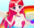Jugar gratis a Vestir al hada del arco iris