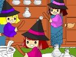 Jugar gratis a Pintar brujas