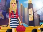 Chica visita Nueva York