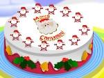 Decorar la tarta de Navidad