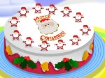 Jugar gratis a Decorar la tarta de Navidad