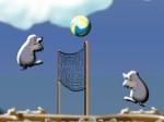 Jugar gratis a Voleibol de topos