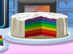 Tarta de 6 colores