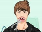 Justin Bieber en el dentista