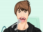Jugar gratis a Justin Bieber en el dentista