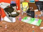 Jugar gratis a Limpiar el salón de belleza