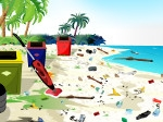 Campamento de playa