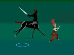Jugar gratis a The Centaur and his Powerful Sword