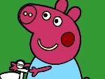 Colorea a Peppa Pig