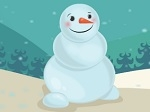 Acicala al muñeco de nieve
