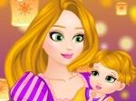 Jugar gratis a El bebé de Rapunzel