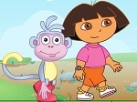 Jugar gratis a Dora nunca para