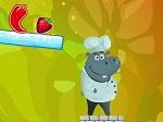 Jugar gratis a Alimenta al hipopótamo