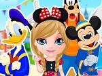Jugar gratis a Barbie en Disneylandia