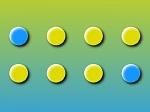 Jugar gratis a ¿Dónde está la bolita azul?
