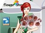 La chica de la floristería