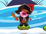 Jugar gratis a Bombardea a los Cerdos Pirata