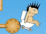 Jugar gratis a Rocket Toilet