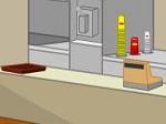 Escapar de la hamburguesería